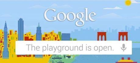 Google - The playground is open.