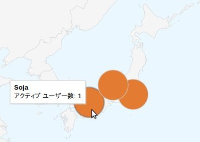 Google Analytics 2 地図